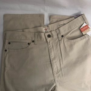 Dockers 32x34 Straight Fit Flat Front Khaki Pants